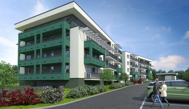 Nowa Huta ulica Niebyła - nowe mieszkania na sprzedaż